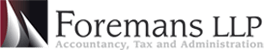 Foremans LLP Accountants Logo